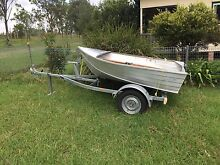 Boat and trailer Mallanganee Kyogle Area Preview