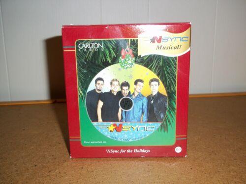 NSYNC musical holiday ornament by Carlton Cards, 2001 (MIB)