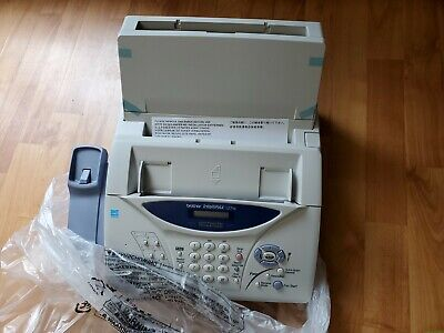 Brother Intellifax-1270e Plain Paper Fax Phone Copier New Open Free Shipping