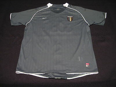 NIKE 2009 JOGA Futebol Clube Brazil Green #32 Adult L Soccer Jersey Shirt image