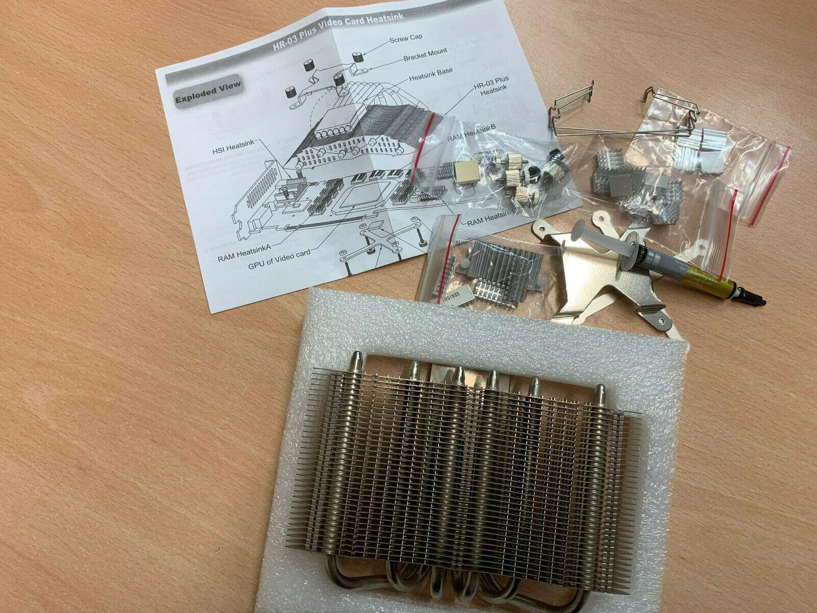 Grafikkarten-Lüfter Cooler THERMALRIGHT HR-03 Plus Video Card Heatsink - neu -