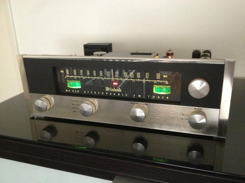 McINTOSH MR65B STEREOPHONIC TUBE FM TUNER