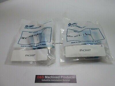 Lot Of 2 New Smc Ar10-m5b-2 Mini Regulator