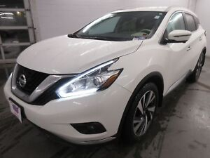 2017 Nissan Murano Platinum- AWD! EXT WARR! NAV! LEATHER! ALLOYS