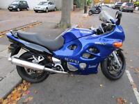 2004 SUZUKI GSX 600 FK3 BLUE ONLY 17000 MILES IN SUPERB CONDITION