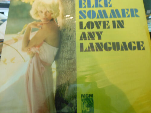 Elke Sommer – Love In Any Language   MGM Records – SE-4321 1965  SEALED