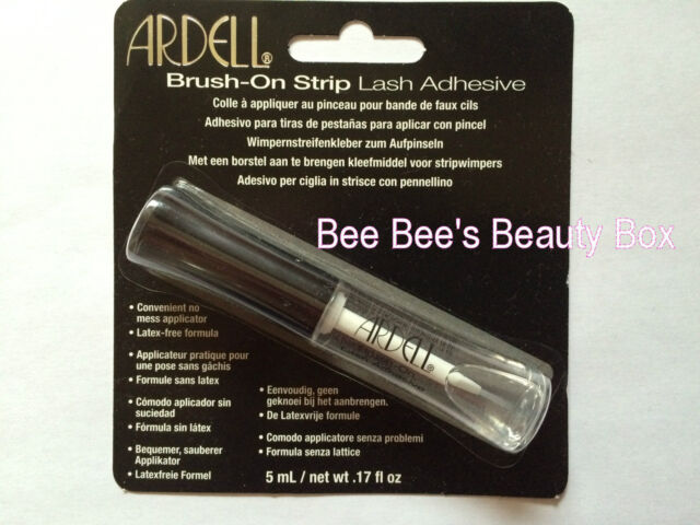 Ardell Brush On Clear Glue, Strip & Individual Lashes, Latex & Formaldehyde free