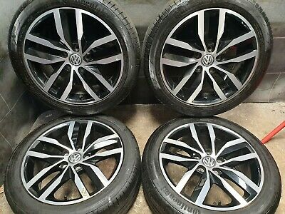 17 inch 5x112 Genuine Volkswagen Golf Mk7 Alloy Wheels