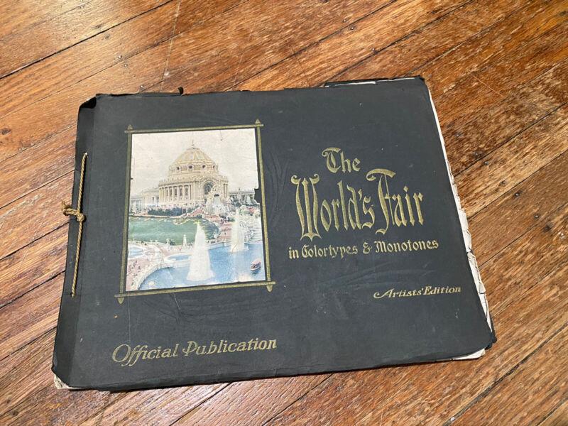 1904 World's Fair Official Publication Artist's Edition - St Louis, Missouri