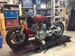 Virago Cafe Racer Project