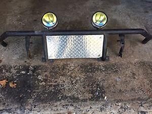 Homemade front bumper