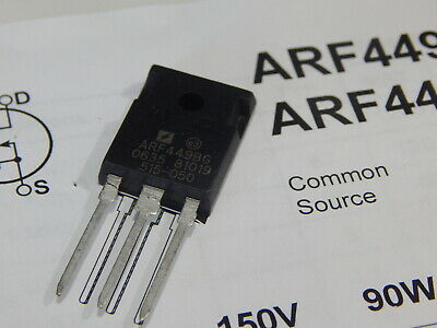 Apt Arf449bg Rf Power Mosfet 150v 90w 120mhz To-247 - Usa Seller Fast Shipping
