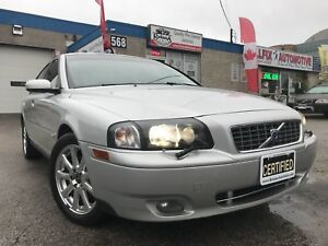 2005 Volvo S80 2.5T AWD_Leather_Sunroof_Accident Free