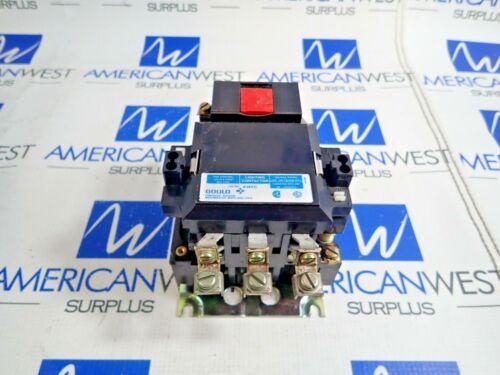 GOULD A143C LIGHTING CONTACTOR 480V 30A