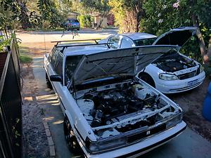 1uz v8 mx73 Cressida (unregistered) w/ Holden Astra (daily) Rockingham Rockingham Area Preview