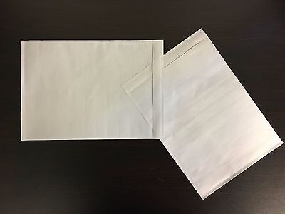 7 X 10 Clear Adhesive Packing List Shipping Label Envelopes Pouches 100 Ct