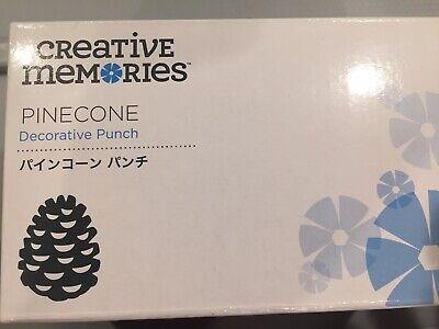 NIB Creative Memories PINECONE Pine Cone Acorn Punch