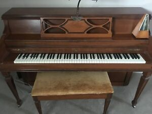 Bell upright piano