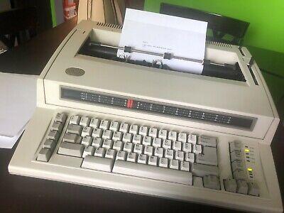 Ibm Personal Wheelwriter Electronic Typewriter 6781 Tested Working Great Bsh