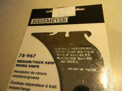 Delta 78-967 Biesemeyer Mediumthick Kerf Riving Knife New Unisaw Only 1-23