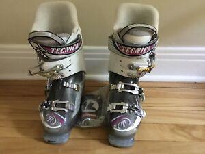 Bottes de ski pour femmes Tecnica Dragon 100 grandeur 7