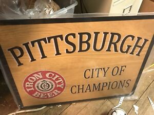 Iron City Beer Sign