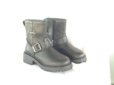 X Element  Womens 6.5  Engineer Motorcycle Boots