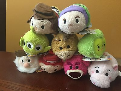 Authentic Disney Tsum Tsum TOY STORY Complete Set of 9 NWT