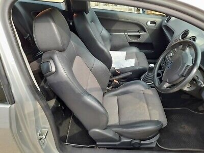 Ford Fiesta  Zetec S 1/2 Leather Seats 3 Door Mk6 front and back and door cards