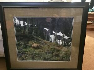 Mountain Grizzly Print