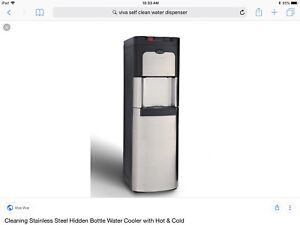 Viva hot and cold self cleaning water cooler
