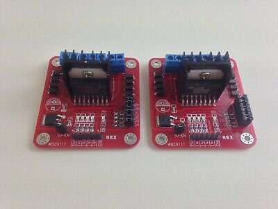 2x L298n Dual H Bridge Dc Stepper Motor Controller Module Led Usa