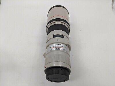 Good Canon Ultrasonic Lens EF 400mm 1:5.6 L, W/ Lens Cap and Tripod Plate-CH0093