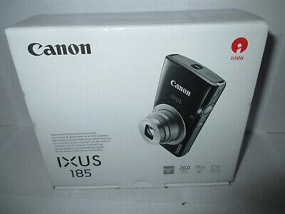 Canon IXUS 185 Digitalkamera (20 MP, 8x optischer Zoom, 2,7 Zoll Display schwarz - 20 Digital Kamera
