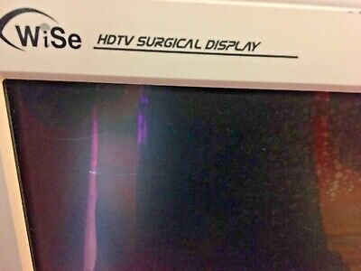 Stryker Endoscopy Wise 26 Hdtv Surgical Display Lcd Monitor Used W 2 P Supply