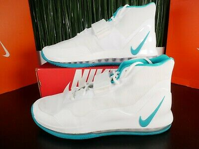 Nike Air Force Max 19 DS TB Mens Basketball Shoes White Blue AR4095 116 Size 14