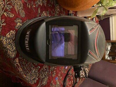 Variable-shade Auto-darkening Welding Helmet By Wel-built