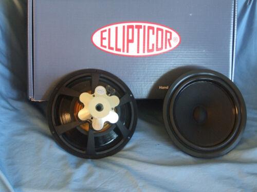 "Pair (2) ScanSpeak Ellipticor 21WE/4542T00 8"" 4 Ohm Mid-Woofer–Nice!"