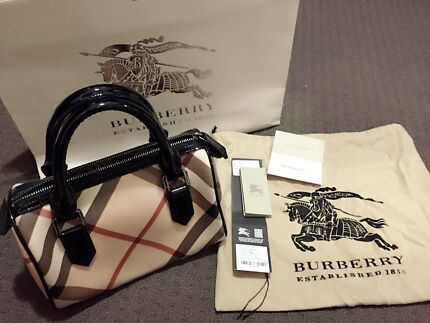 Authentic Burberry Bowling Bag (small) Redcliffe Belmont Area Preview