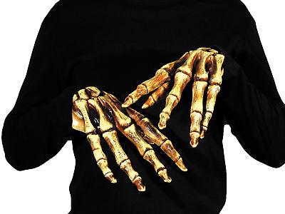 Bones Adult Hands Skeleton Creepy Realistic Latex Custom - Custom Latex Kostüme