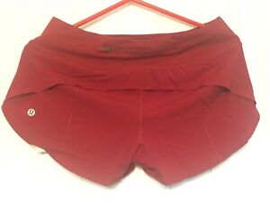 Size 6 Lululemon Speed Up shorts NEW WITH TAGS