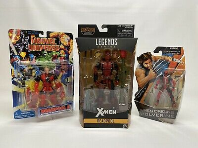 DEADPOOL LOT - Legends Juggernaut Series, X-Men Origins Wolverine, ToyBiz DP NEW