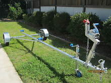 FOLDING BOAT TRAILER - TW0 MODELS - RIGID OR WITH COIL SPRINGS Brisbane Region Preview