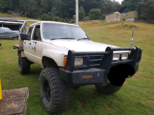 253 v8 hilux 4x4 Franklin Huon Valley Preview