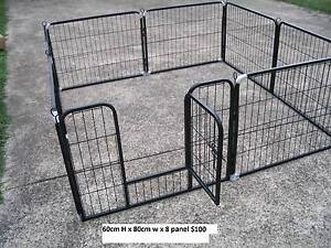 BRAND NEW Pet Dog Exercise Encl Fence Play Pen Run-60cmx8 PANEL Kingston Logan Area Preview