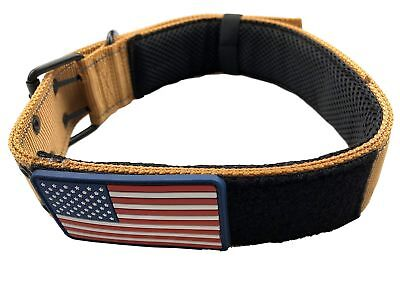 """Diezel Pet Products Dog Collars K9 Harness Tactical Military Style - 2"""" Two I..."""