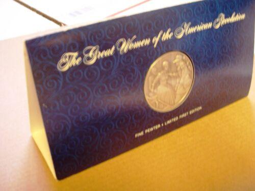 DAR Medal - DICEY LANGSTON Display Card. Great Women of the American Revolution.