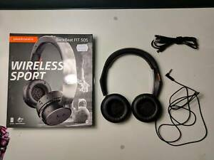 Plantronics BackBeat Fit 505 Wireless On-Ear Headphones (Black)
