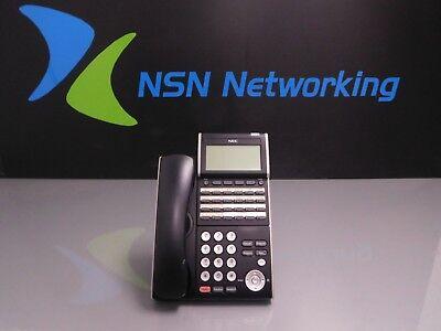 Nec Dt330 Dtl-24d-1 Bk Tel 24-button Display Phone 680004