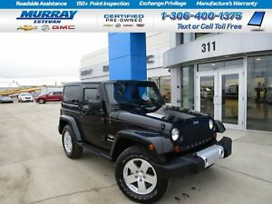 2012 Jeep Wrangler SAHARA! LEATHER! HARDTOP! PR GROUP! CLEAN 1 O